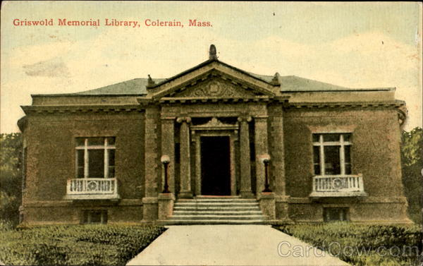 Griswold Memorial Library Colrain Massachusetts