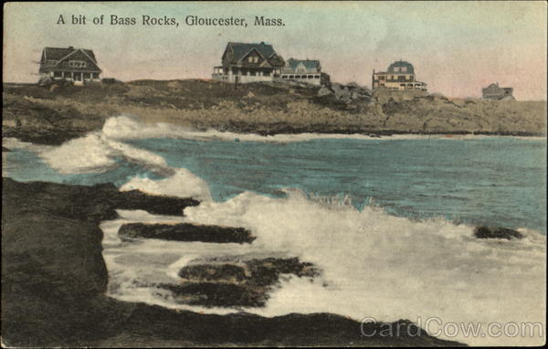 A Bit Of Bass Rocks Gloucester Massachusetts