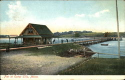 Pier At Camp Ellis