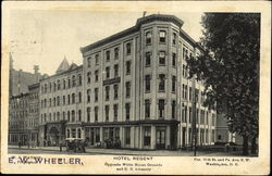 Hotel Regent, Cor. 15th St. and Pa Ave.