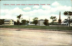 Unitarian Church And Springfield Fire & Marine Insurance Co.,, James & School Building