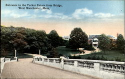 Entrance To The Tucker Estate From Bridge