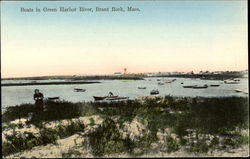 Boats In Green Harbor River