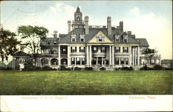 Residence Of H. H. Rogers