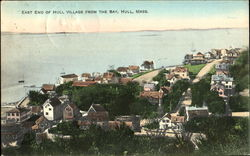 East End Of Hull Village From The Bay