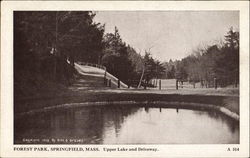 Upper Lake And Driveway, Forest Park