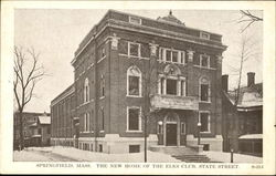 The New Home Of The Elks Club, State Street
