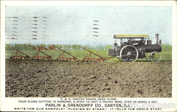 Parlin & Orendorff Co. Canton Illinois Farming