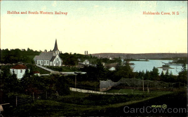 Halifax And South-Western Railway Hubbards Cove Canada