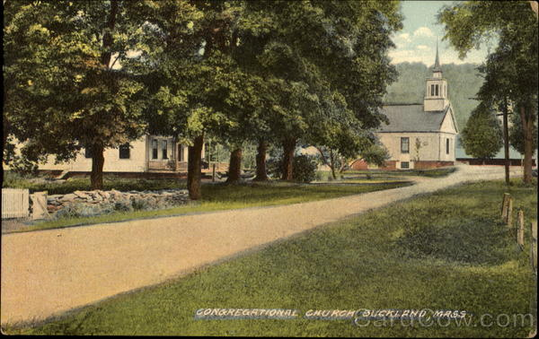 Congregational Church Buckland Massachusetts