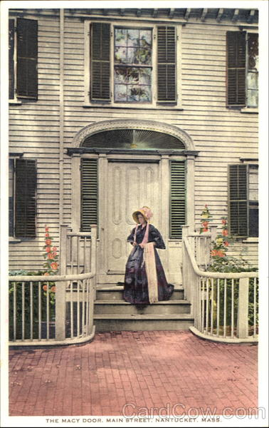 The Macy Door, Main Street Nantucket Massachusetts