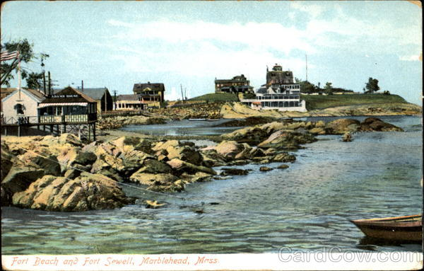 Fort Beach And Fort Sewell Marblehead Massachusetts