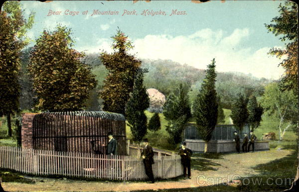 Bear Cage, Mountian Park Holyoke Massachusetts