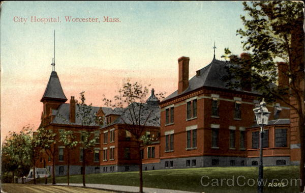 City Hospital Worcester Massachusetts
