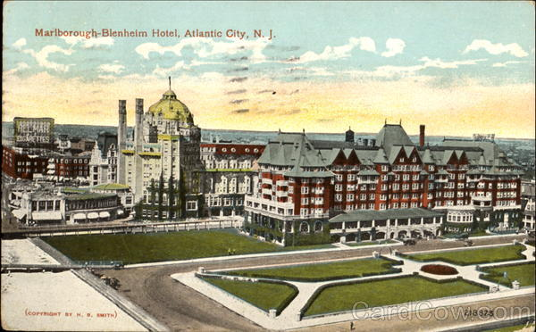 Atlantic City Hotels >> Marlborough-Blenheim Hotel Atlantic City, NJ