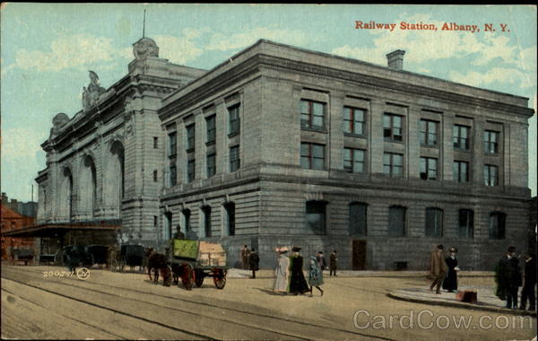 Railway Station Albany New York
