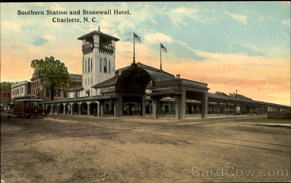 Southern Station And Stonewall Hotel Charlotte North Carolina