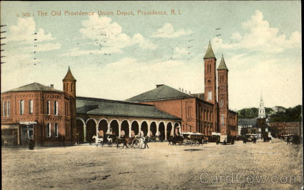The Old Providence Union Depot Rhode Island