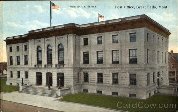 Post Office Great Falls Montana