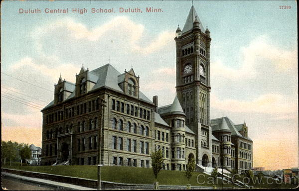 Duluth Central High School Minnesota