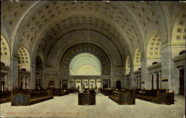 New Union Station Waiting Room Washington District of Columbia