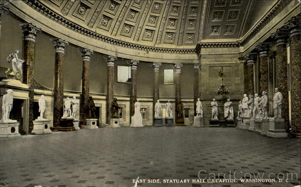East Side National Statuary Hall Washington District of Columbia