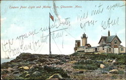 Eastern Point Light And Mother Inn