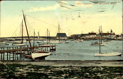 New Harbor Postcard
