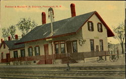 Boston & Maine R. R. Station Postcard