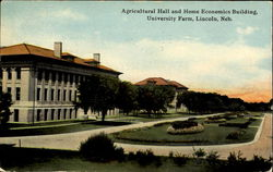 Agricultural Hall And Home Economics Building, University Farm