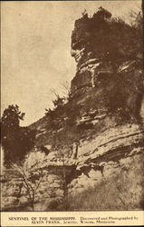 Sentinel Of The Mississippi Postcard