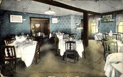 Dining Room, Wright Tavern