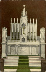 Altar In St. Patrick's Church