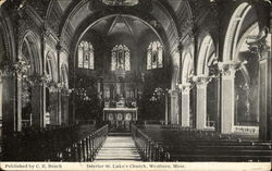 Interior St. Luke's Church