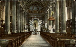 Interior Of Basilica Ste. Anne de Beaupre