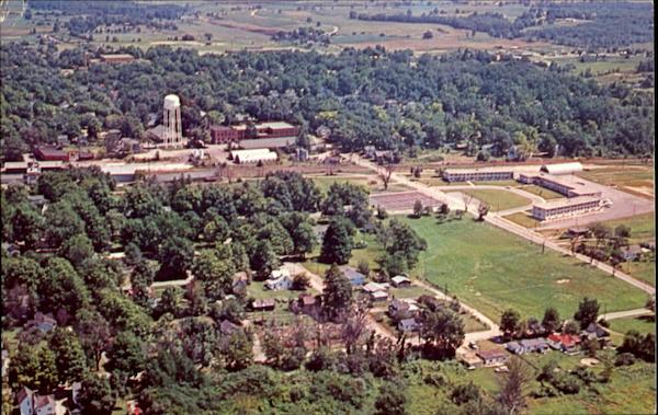 Aerial Of Tri-State College Angola Indiana