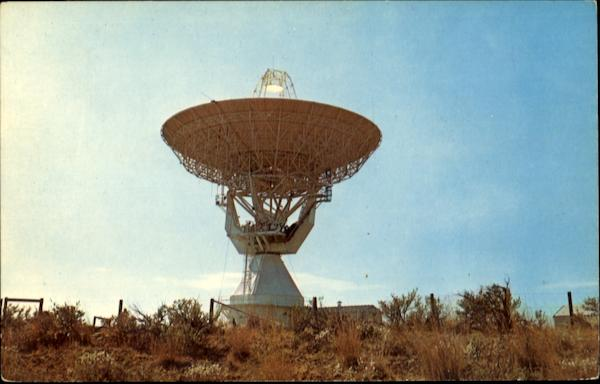 Comsat Earth Station Brewster Flat Washington