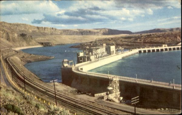 Rock Island Dam Wenatchee Washington