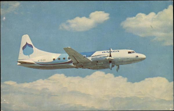 Aspen Airways Convair Cv-580 Washington Aircraft