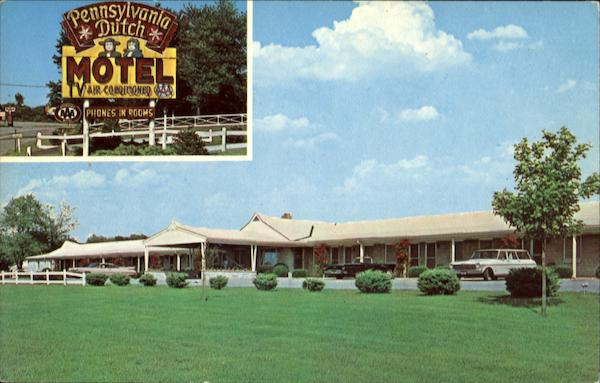 Pennsylvania Dutch Motel, Route 222 Denver