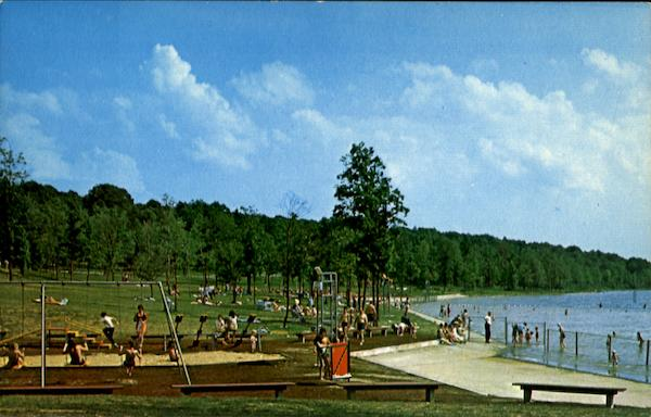 Swimming Area, Prince Gallitzin State Park Pennsylvania