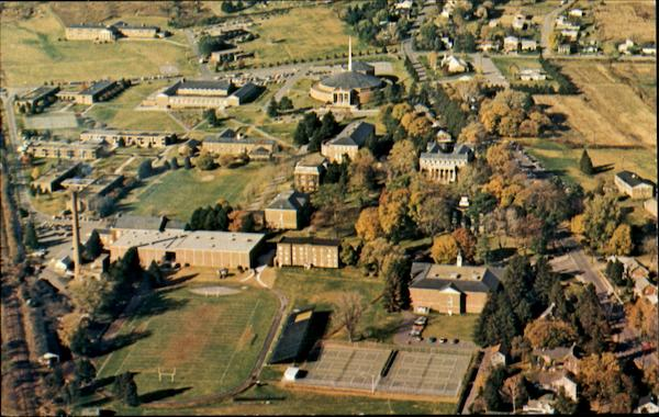 Aerial View Of Susquehanna University Selinsgrove Pennsylvania