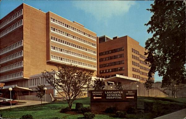 Exterior: Lancaster General Hospital Pennsylvania