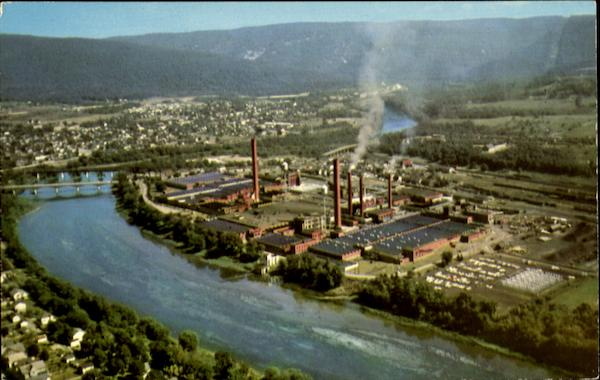The American Viscose Plant Lewistown Pennsylvania