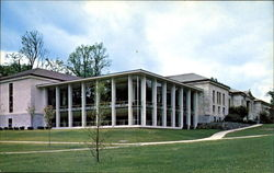 The Egbert Starr Library, Middlebury College Postcard