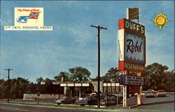Duff's Quality Court Resort Motel, U. S. Routes 50-522-17