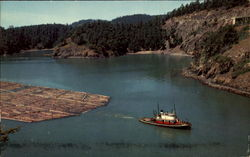 Log Raft And Tug