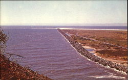 North Jetty At Mount Of Columbia
