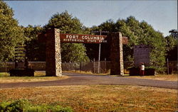 Entrance To Fort Columbia State Park And Interpretive Museum