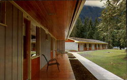 New Motel At Lake Crescent Lodge, Olympic National Park